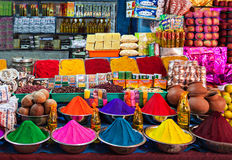 Indian shop Royalty Free Stock Images