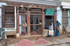 Indian Shopping royalty free stock photo