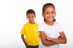 Indian siblings stock photos