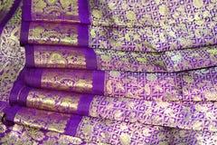 Indian Silk Sari Royalty Free Stock Photography