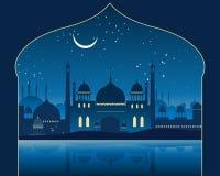 Indian skyline vector illustration