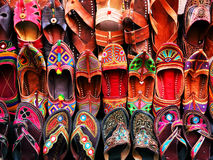 Indian slippers Stock Photography