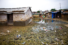 Indian Slum Stock Photos