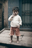 Indian small boy during Royalty Free Stock Photo