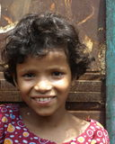 Indian smiling girl Stock Image