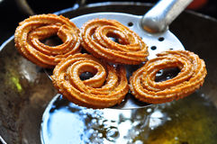 Indian snack-Chakli Stock Photo