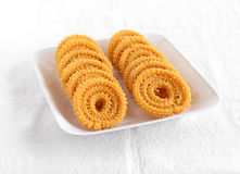 Indian Snack Chakli Stock Photo