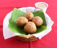 Indian Snack Mangalore Bajji Royalty Free Stock Images
