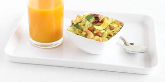 Indian Snack Poha Chivda Stock Photography