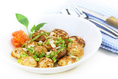 Indian snack punugu Stock Photos