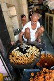 Indian Snack Shop, Jaipur Stock Image