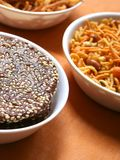 Indian snacks Royalty Free Stock Photo