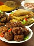 Indian snacks Royalty Free Stock Photos