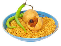Indian snacks Stock Photos