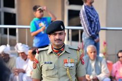 Indian Soldier Royalty Free Stock Photos