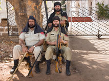 Indian soldiers Stock Images