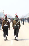 Indian Soldiers on the occasion of republic day Parade2014 in New Delhi, India Stock Photos
