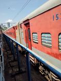 Train. Indian southern railway Royalty Free Stock Photo