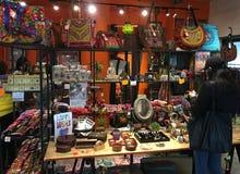 Indian souvenir shop in Hong Kong Royalty Free Stock Images