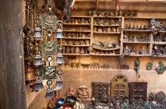 Indian souvenirs at market Stock Photos