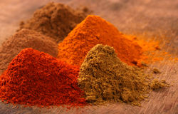 Indian spice. Close up of Indian spice Royalty Free Stock Images