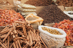 Indian spice market Stock Images