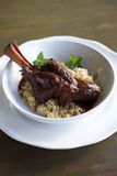 Braised Lamb Shank Stock Photos
