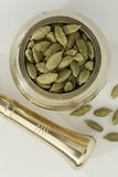 Indian spices-Cardamom Royalty Free Stock Photo