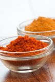Indian spices - Chillies and Turmeric Stock Photography