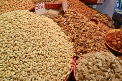 Indian Spices and dry fruits Royalty Free Stock Photo