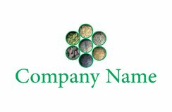 Indian spices logo Stock Images