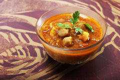 Indian spicy chana masala Stock Photography