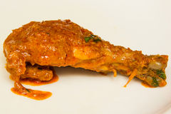Indian spicy Curry  Chicken Masala Royalty Free Stock Images
