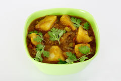 Indian spicy potato curry Stock Images