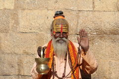 Indian Spiritual Man Royalty Free Stock Photography