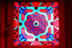 Indian stained glass Stock Photography