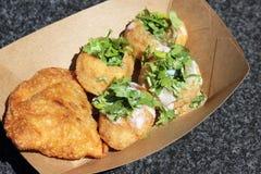 Indian street food Aka Pani Puri Royalty Free Stock Photo