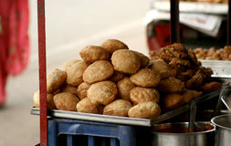 Indian street food-chat Stock Image