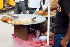 Indian street food-chat Royalty Free Stock Photography