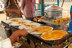 Indian street food-Dosa Stock Images