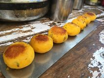 Indian Street Food. Group of Tasty Indian Street Food Royalty Free Stock Images