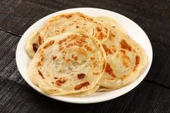 Indian street food -Paratha Royalty Free Stock Photo
