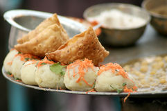 Indian street food Stock Images