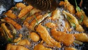 Indian street food stock video