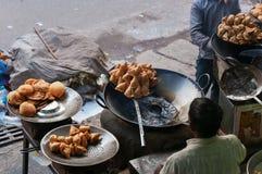 Indian street food Stock Photos