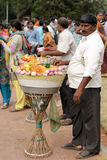 Indian street food vendor Stock Photos
