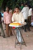 Indian street food vendor Stock Photography