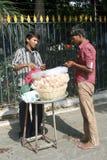 Indian street food vendor Stock Photo