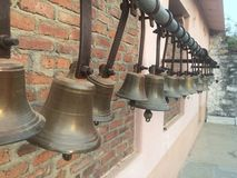 Indian Street Hindu God Bell Royalty Free Stock Photos