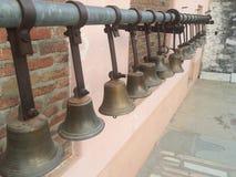 Indian Street Hindu God Bell Stock Photo